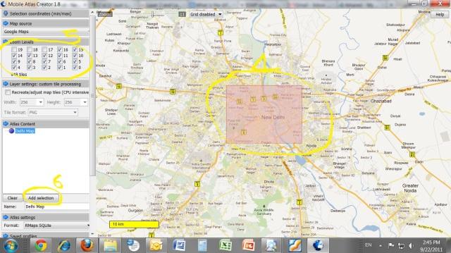 Mobile atlas creator google maps for Rmap - Newtechworld.net